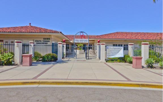 Barnes Youth Tennis Clubhouse, San Diego CA